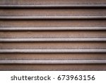 Rusty Corrugated Sheet Metal...