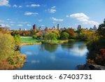 new york city central park in... | Shutterstock . vector #67403731