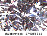 layered texture triangular... | Shutterstock . vector #674055868