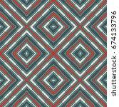 ethnic style seamless pattern... | Shutterstock .eps vector #674133796