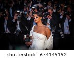 cannes  france   may 19  2017   ... | Shutterstock . vector #674149192