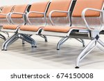 chairs. waiting hall | Shutterstock . vector #674150008