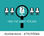 employment recruitment job... | Shutterstock .eps vector #674155066