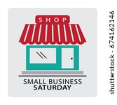 small business saturday | Shutterstock .eps vector #674162146