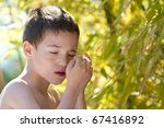 young child in nature | Shutterstock . vector #67416892