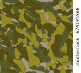 camouflage seamless pattern....   Shutterstock .eps vector #674195968