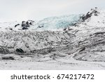 falljokull  'falling glacier' ...   Shutterstock . vector #674217472
