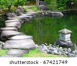 Japan Zen Path In A Garden ...