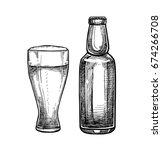 hand drawn vector illustration  ... | Shutterstock .eps vector #674266708