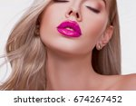 close up view of beautiful... | Shutterstock . vector #674267452