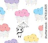 seamless pattern for children.  ...   Shutterstock .eps vector #674316505