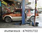 nonthaburi  thailand   december ... | Shutterstock . vector #674351722