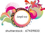 abstract colorful background.... | Shutterstock .eps vector #67439833