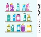 household cleaner products and...