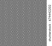 seamless pattern with black... | Shutterstock .eps vector #674442202