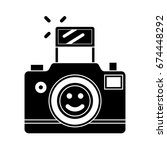 photo camera icon | Shutterstock .eps vector #674448292