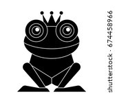 frog icon | Shutterstock .eps vector #674458966