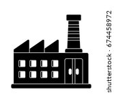 factory icon | Shutterstock .eps vector #674458972