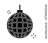 disco ball icon | Shutterstock .eps vector #674460166