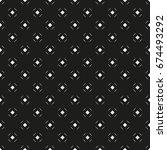 vector seamless pattern. modern ... | Shutterstock .eps vector #674493292