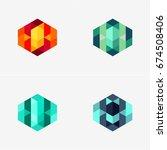 modern abstract design vector... | Shutterstock .eps vector #674508406