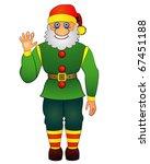 dwarf making beck | Shutterstock .eps vector #67451188