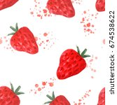 Seamless Pattern With Juicy...