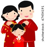 New Year Greetings_happy Famil...