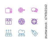 vector illustration of 9... | Shutterstock .eps vector #674563162