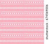 valentine seamless pattern....   Shutterstock .eps vector #674569006