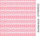 cute seamless pattern for...   Shutterstock .eps vector #674569012