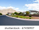 southwest style homes in las... | Shutterstock . vector #67458907