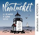 massachusetts  united states... | Shutterstock .eps vector #674592376