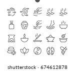 alternative medicine ui pixel... | Shutterstock .eps vector #674612878