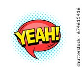 superhero comic book dialog... | Shutterstock .eps vector #674615416