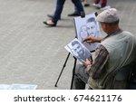 Painter  Artist  Draws A...