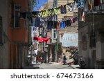 istanbul turkey 05 july 2017... | Shutterstock . vector #674673166