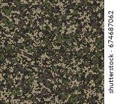 seamless pattern. abstract... | Shutterstock .eps vector #674687062