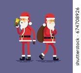 creative flat vector character... | Shutterstock .eps vector #674708926