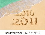 Numbers 2011 On Beach   Concep...