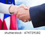 Business People Doing Handshak...