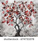 oil painting on canvas ... | Shutterstock . vector #674731078