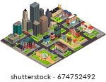a vector illustration of... | Shutterstock .eps vector #674752492