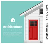 elements of architecture... | Shutterstock .eps vector #674777896