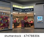 Small photo of PHOENIX, ARIZONA, JULY 1, 2017: Yankee Candle Retail Store