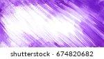 abstract watercolor texture... | Shutterstock . vector #674820682