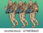 Squad Modern Cyber Soldier....