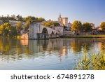 Avignon Bridge With Popes...