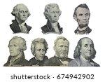 Presidents Dollar Us American - Fine Art prints