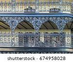new orleans french quarter...   Shutterstock . vector #674958028
